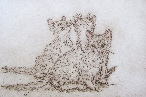 litter-mates-etching-3x5-plate