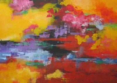 Happy Hour acrylic on canvas 18x24