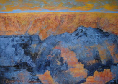 sunset-at-the-grand-canyon-1-acrylic-on-paper-22x30